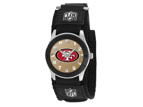 San Francisco 49ers Game Time Pro Rookie Kids Watch Black
