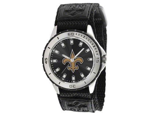 New Orleans Saints Game Time Pro Veteran Watch