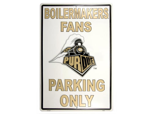 Purdue Boilermakers Parking Sign