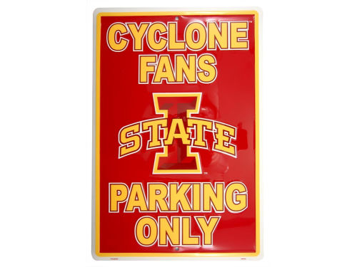 Iowa State Cyclones Parking Sign