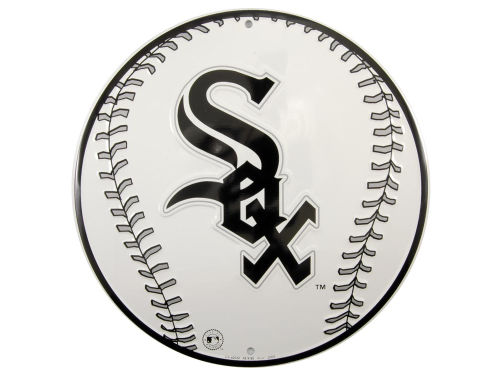 Chicago White Sox Circular Baseball Sign
