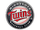 Minnesota Twins Circular Baseball Sign Gameday & Tailgate