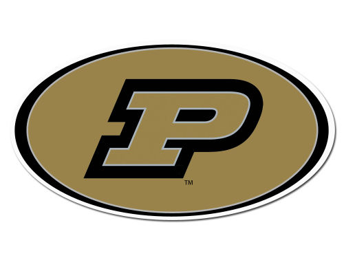 Purdue Boilermakers 8in Car Magnet