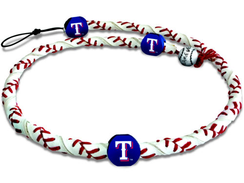 Texas Rangers Game Wear Frozen Rope Necklace