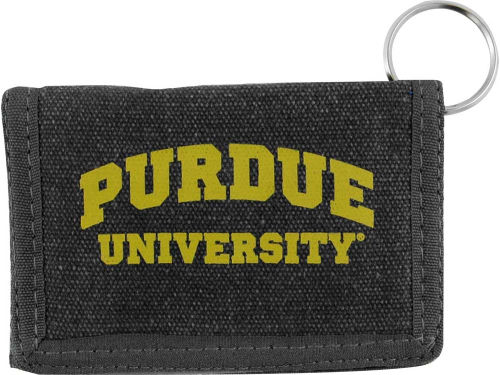 Purdue Boilermakers Canvas ID Holder