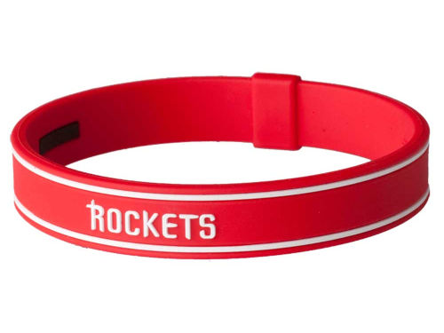 Houston Rockets Phiten S-Type Titanium Bracelet