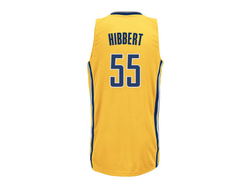 Indiana Pacers Roy Hibbert adidas NBA Revolution 30 Swingman Jersey