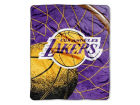 Los Angeles Lakers 50x60in Plush Throw Blanket Bed & Bath
