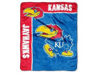 Kansas Jayhawks 50x60in Plush Throw Blanket Bed & Bath