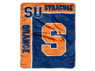 Syracuse Orange 50x60in Plush Throw Blanket Bed & Bath