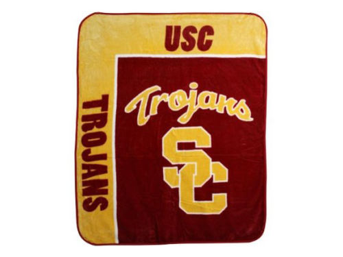 USC Trojans The Northwest Company 50x60in Plush Throw Blanket