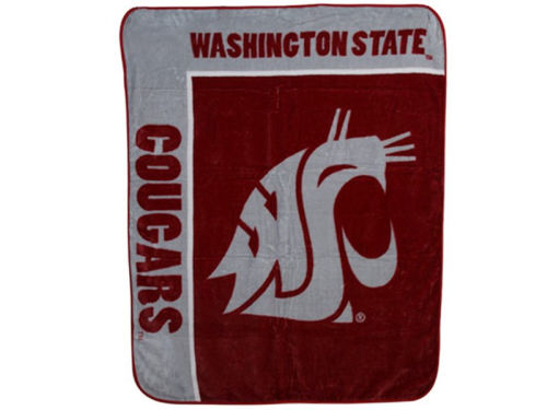 Washington State Cougars The Northwest Company 50x60in Plush Throw Blanket