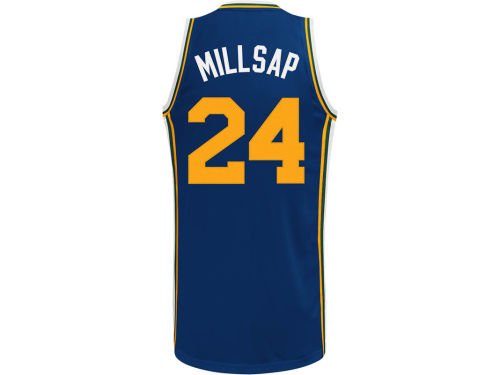 Utah Jazz Paul Milsap adidas NBA Revolution 30 Swingman Jersey