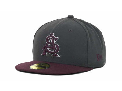 Arizona State Sun Devils NCAA 2 Tone Graphite and Team Color 59FIFTY Cap Hats