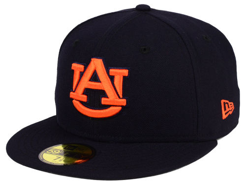 Auburn Tigers New Era NCAA AC 59FIFTY Cap Hats