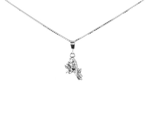 Arizona State Sun Devils Silver Charm Necklace