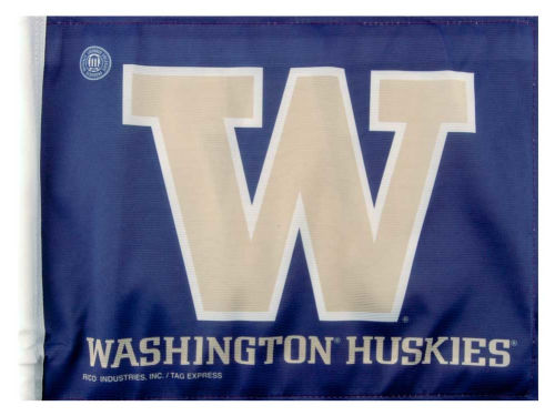 Washington Huskies Rico Industries Car Flag