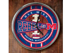Mississippi Rebels Chrome Clock Bed & Bath