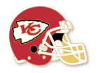 Kansas City Chiefs Helmet Pin Apparel & Accessories