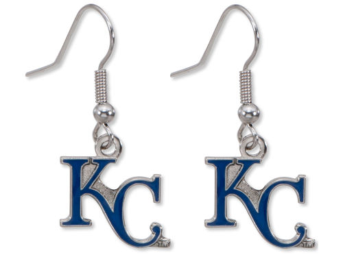 Kansas City Royals Aminco Inc. Logo Earrings