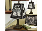 Chicago White Sox Art Glass Table Lamp Bed & Bath