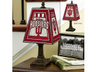 Indiana Hoosiers Art Glass Table Lamp Bed & Bath