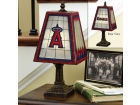 Los Angeles Angels Art Glass Table Lamp Bed & Bath