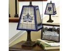 Los Angeles Kings Art Glass Table Lamp Bed & Bath