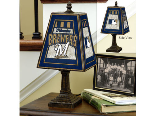 Milwaukee Brewers 14in Table Lamp