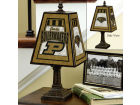 Purdue Boilermakers Art Glass Table Lamp Bed & Bath