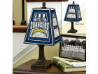San Diego Chargers Art Glass Table Lamp Bed & Bath