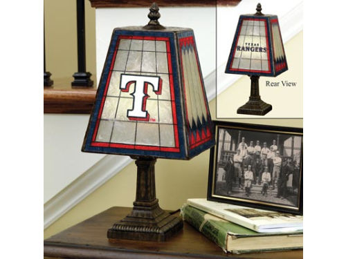 Texas Rangers 14in Table Lamp