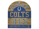 Indianapolis Colts Wincraft 10x11 Wood Sign Flags & Banners