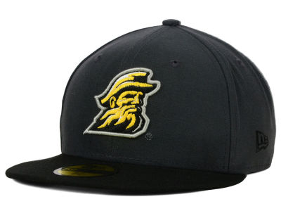 Appalachian State Mountaineers NCAA 2 Tone Graphite and Team Color 59FIFTY Cap Hats
