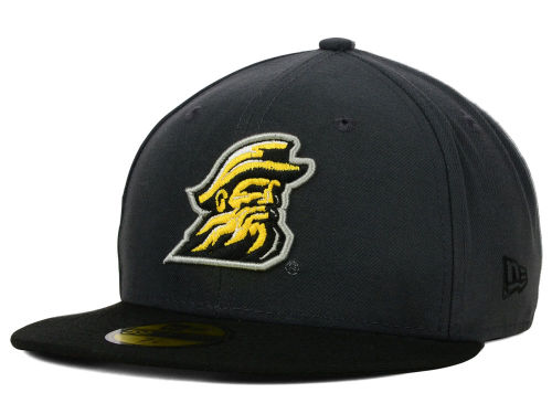 Appalachian State Mountaineers New Era NCAA 2 Tone Graphite and Team Color 59FIFTY Cap Hats