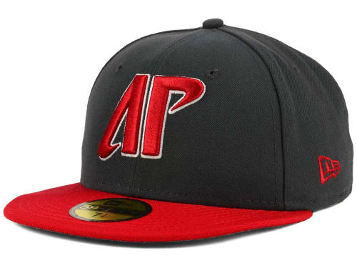 Austin Peay Governors New Era NCAA 2 Tone Graphite and Team Color 59FIFTY Cap Hats