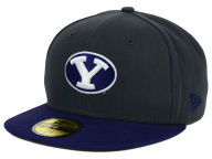 New Era NCAA 2 Tone Graphite and Team Color 59FIFTY Cap Fitted Hats