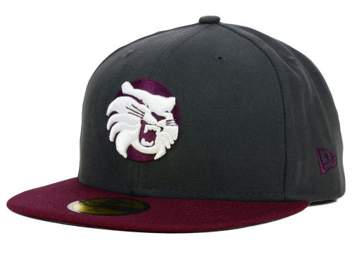 California State Chico Wildcats New Era NCAA 2 Tone Graphite and Team Color 59FIFTY Cap Hats