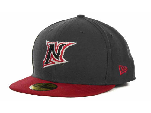 Cal State Northridge Matadors New Era NCAA 2 Tone Graphite and Team Color 59FIFTY Cap Hats