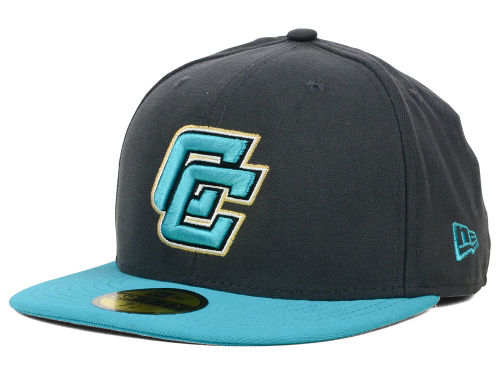 Coastal Carolina Chanticleers New Era NCAA 2 Tone Graphite and Team Color 59FIFTY Cap Hats