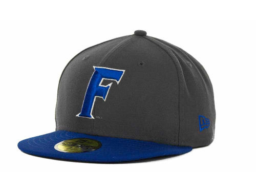 Florida Gators New Era NCAA 2 Tone Graphite and Team Color 59FIFTY Cap Hats