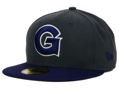 Georgetown Hoyas NCAA 2 Tone Graphite and Team Color 59FIFTY Cap Hats