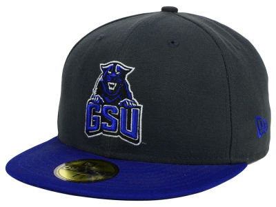 Georgia State Panthers NCAA 2 Tone Graphite and Team Color 59FIFTY Cap Hats