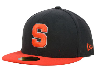 Syracuse Orange NCAA 2 Tone Graphite and Team Color 59FIFTY Cap Hats
