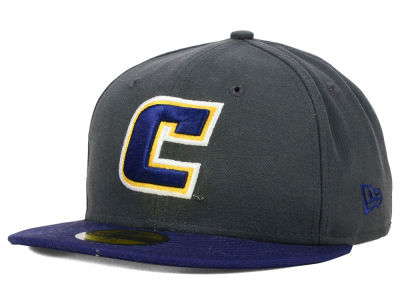 Tennessee Chattanooga Mocs NCAA 2 Tone Graphite and Team Color 59FIFTY Cap Hats
