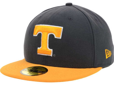 Tennessee Volunteers NCAA 2 Tone Graphite and Team Color 59FIFTY Cap Hats