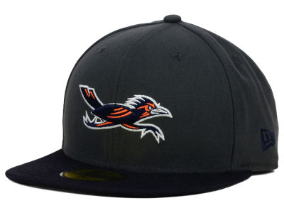 University of Texas San Antonio Roadrunners NCAA 2 Tone Graphite and Team Color 59FIFTY Cap Hats