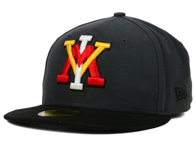 VMI Keydets NCAA 2 Tone Graphite and Team Color 59FIFTY Cap Hats