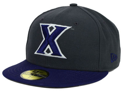 Xavier Musketeers NCAA 2 Tone Graphite and Team Color 59FIFTY Cap Hats