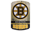 Boston Bruins Wincraft 11x17 Wood Sign Flags & Banners